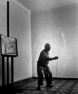picasso ligthpainting 2